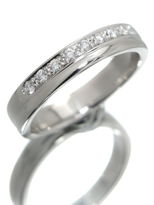 【TASAKI】【仕上済】タサキ『PT1000リング ダイヤモンド0.11ct』9.5号 1週間保証【中古】