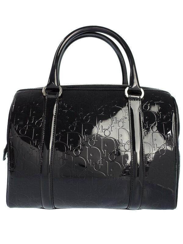 【Christian Dior】クリスチャンディオール『アルティメット ミニボストンバッグ』レディース ハンドバッグ 1週間保証【中古】