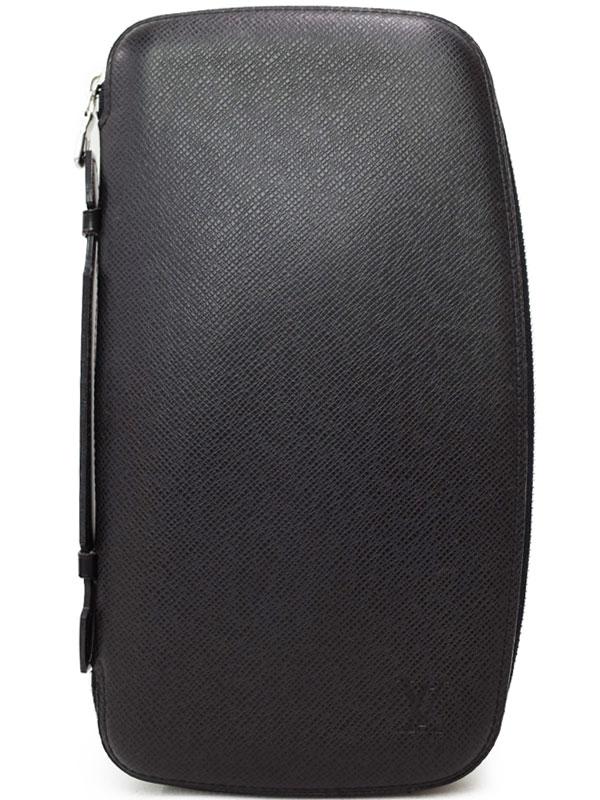 【LOUIS VUITTON】ルイヴィトン『タイガ オーガナイザー アトール』M30652 メンズ トラベルケース 1週間保証【中古】