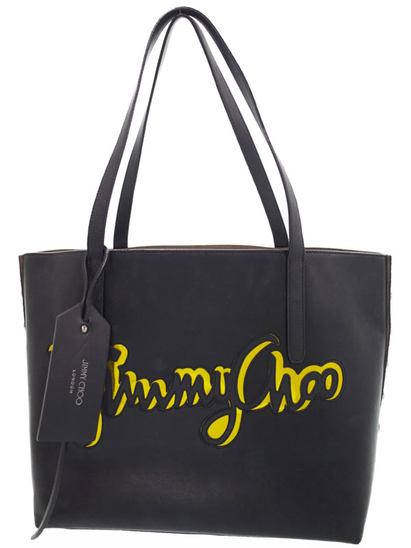 【JIMMY CHOO】ジミーチュウ『PIMLICO ROCK BIG トートバッグ』TWIST EAST WEST JCG メンズ 1週間保証【中古】