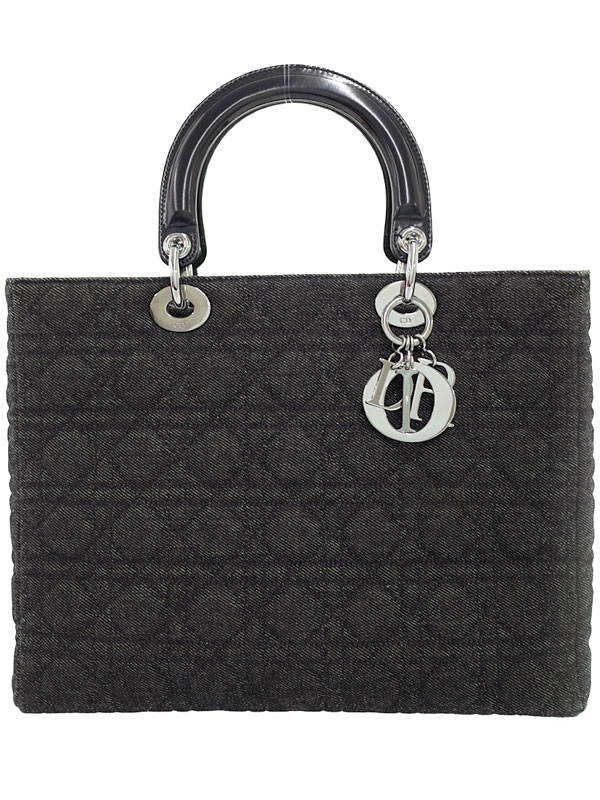【Christian Dior】クリスチャンディオール『レディディオール(L)』レディース ハンドバッグ 1週間保証【中古】