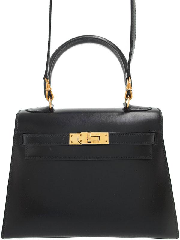 【HERMES】【ゴールド金具】エルメス『ケリー20 外縫い』S刻印 1989年製 レディース 2WAYバッグ 1週間保証【中古】