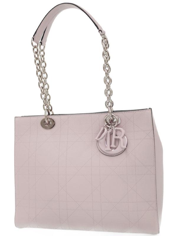 【Christian Dior】クリスチャンディオール『ウルトラディオール チェーントートバッグ』M135 PVCQ M956 レディース 1週間保証【中古】