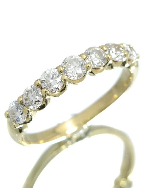 セレクトジュエリー『K18YGリング ダイヤモンド1.00ct』13号 1週間保証【中古】