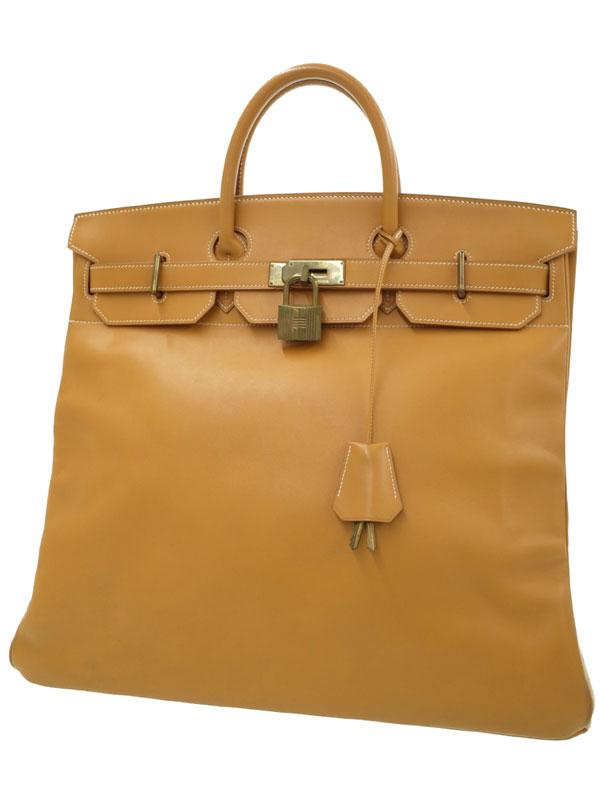 【HERMES】【ゴールド金具】エルメス『オータクロア 45』W刻印 1993年製 ユニセックス ハンドバッグ 1週間保証【中古】