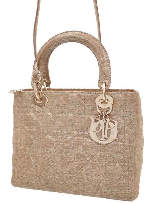 【Christian Dior】クリスチャンディオール『レディディオール(M)』G0M44550 レディース 2WAYバッグ 1週間保証【中古】