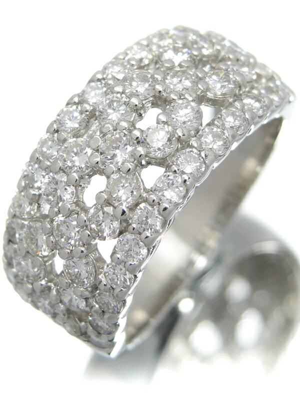 【仕上済】セレクトジュエリー『PT900リング ダイヤモンド1.60ct』13号 1週間保証【中古】