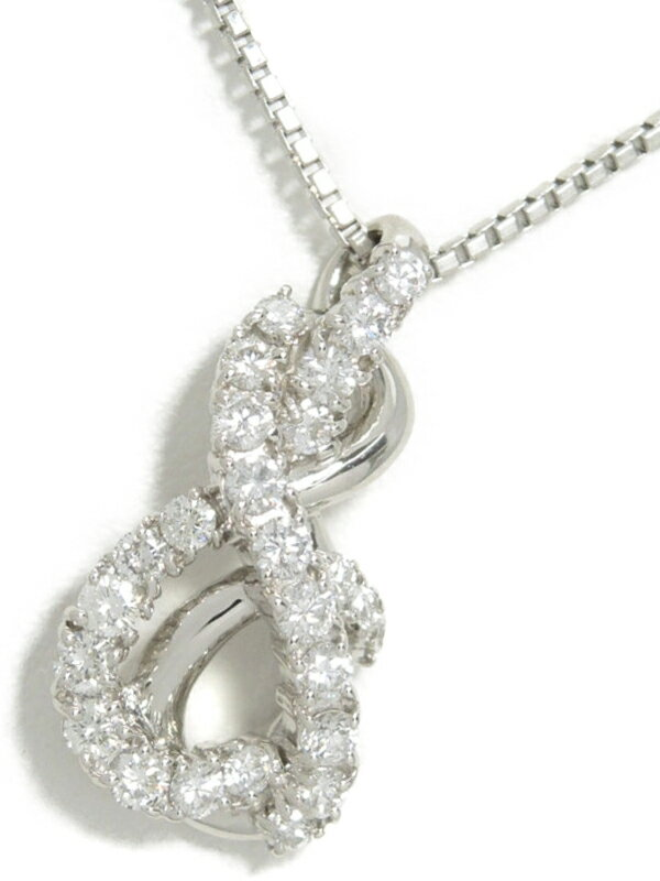 セレクトジュエリー『PT900/PT850ネックレス ダイヤモンド0.80ct』1週間保証【中古】