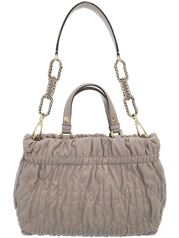 【Christian Dior】クリスチャンディオール『デリディオール 2WAYハンドバッグ』M08140LCW レディース 2WAYバッグ 1週間保証【中古】