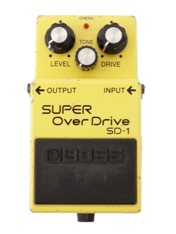 【BOSS】ボス『スーパーオーバードライブ』SD-1 コンパクトエフェクター 1週間保証【中古】