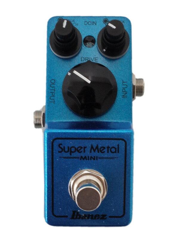【Ibanez】アイバニーズ『スーパーメタルミニ』Super Metal MINI コンパクトエフェクター 1週間保証【中古】