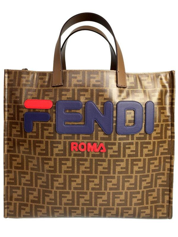 【FENDI】フェンディ『ズッカ柄 トートバッグ』8BH357 レディース 1週間保証【中古】