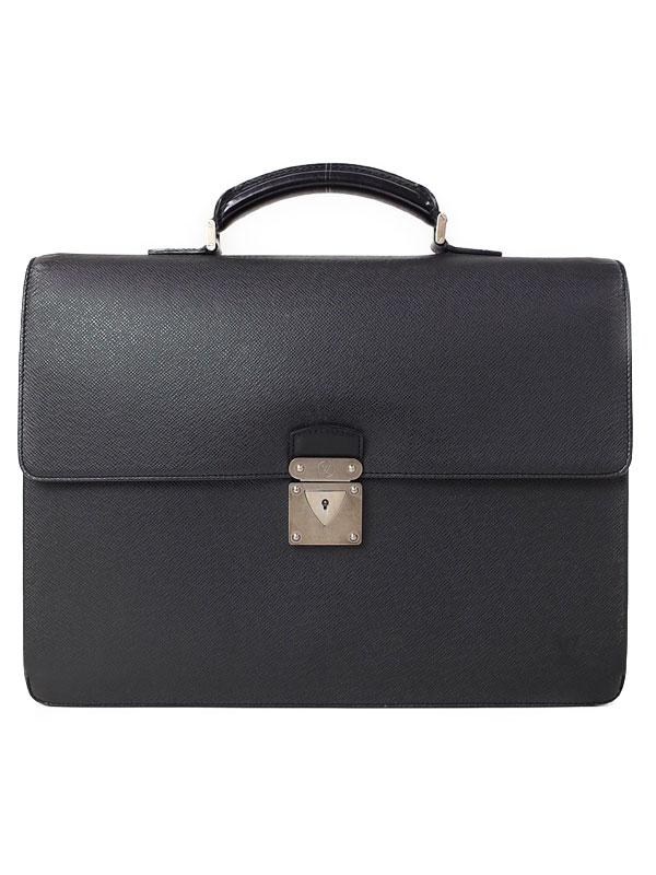 【LOUIS VUITTON】【書類鞄】ルイヴィトン『タイガ ロブスト1』M31052 メンズ ビジネスバッグ 1週間保証【中古】