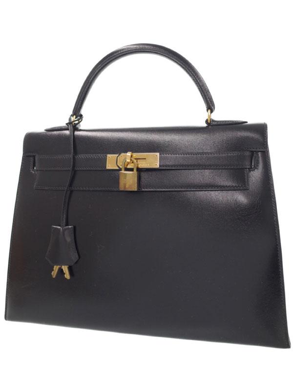 【HERMES】【ゴールド金具】エルメス『ケリー32 外縫い』U刻印 1991年製 レディース ハンドバッグ 1週間保証【中古】