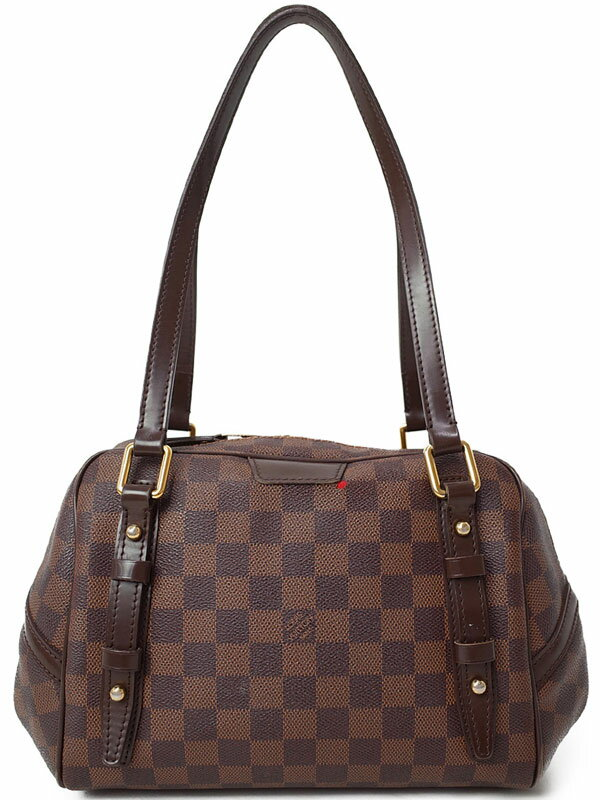 【LOUIS VUITTON】ルイヴィトン『ダミエ リヴィントンPM』N41157 レディース ショルダーバッグ 1週間保証【中古】