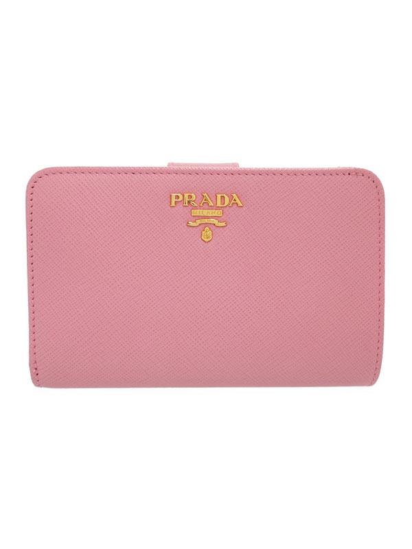 【PRADA】プラダ『L字ファスナー短財布』1ML225 レディース 1週間保証【中古】
