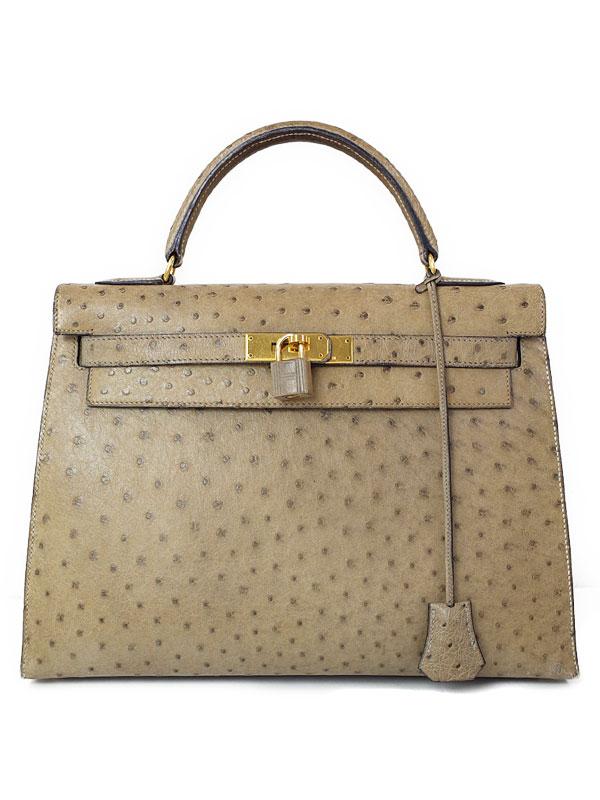 【HERMES】【ゴールド金具】エルメス『ケリー32 外縫い』X刻印 1994年製 レディース ハンドバッグ 1週間保証【中古】