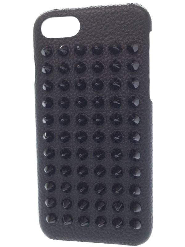 【Christian Louboutin】クリスチャンルブタン『iphoneケース 7・8用』1185124 レディース アイフォンケース 1週間保証【中古】