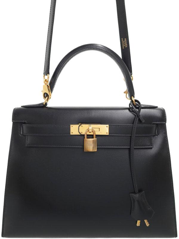 【HERMES】【ゴールド金具】エルメス『ケリー28 外縫い』C刻印 1999年製 レディース 2WAYバッグ 1週間保証【中古】