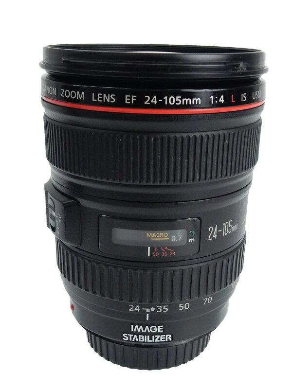 【Canon】キヤノン『EF24-105mm F4L IS USM』EF24-10540LIS フルサイズ対応 手ブレ補正 防塵・防滴 非球面レンズ レンズ 1週間保証【中古】