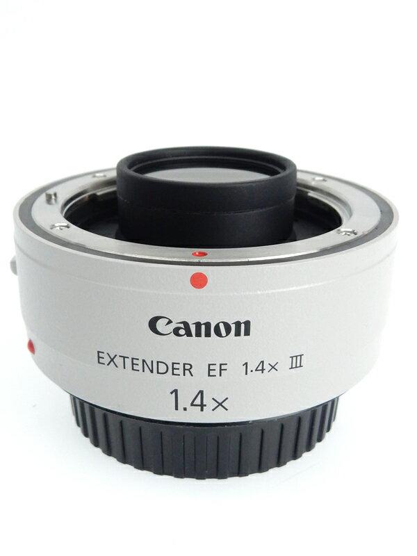 【Canon】キヤノン『EXTENDER EF1.4×III』EF14X3 1.4倍 エクステンダー テレコンバージョンレンズ 1週間保証【中古】