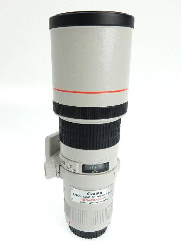 キヤノン『EF400mm F5.6L USM』EF40056L キヤノンEFマウント リアフォーカス 一眼レフカメラ/ミラーレスカメラ用交換レンズ 1週間保証【中古】