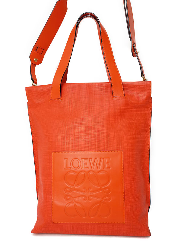 【LOEWE】ロエベ『ショッパー 2WAYトートバッグ』330.88.M48 レディース 2WAYバッグ 1週間保証【中古】