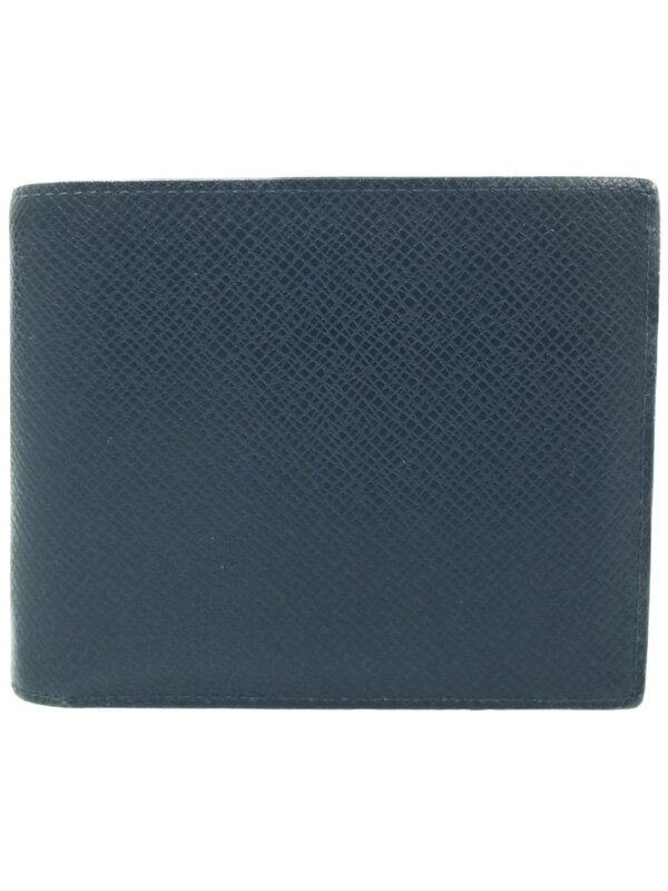 【LOUIS VUITTON】ルイヴィトン『タイガ ポルトフォイユ アメリゴ』M42101 メンズ 二つ折り短財布 1週間保証【中古】