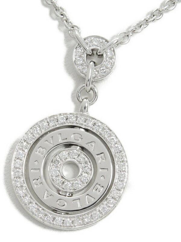 【BVLGARI】ブルガリ『K18WG アストラーレ・チェルキ ダイヤモンド ネックレス』1週間保証【中古】