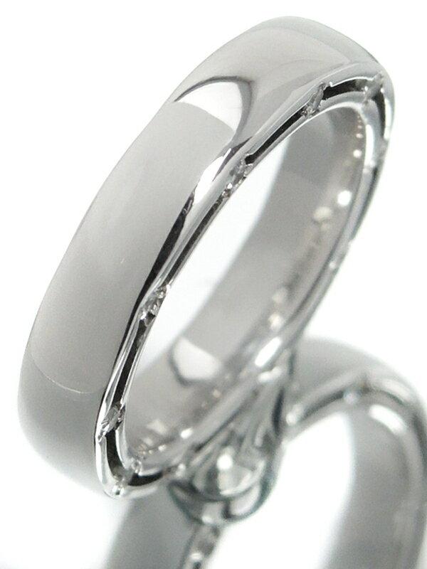 【DAMIANI】【D.Side】【仕上済】【訳有特価】ダミアーニ『K18WG Dサイド リング 20Pダイヤモンド』5.5号 1週間保証【中古】