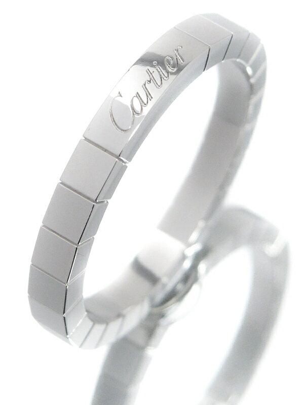 【Cartier】カルティエ『K18WG ラニエール リング』22号 1週間保証【中古】