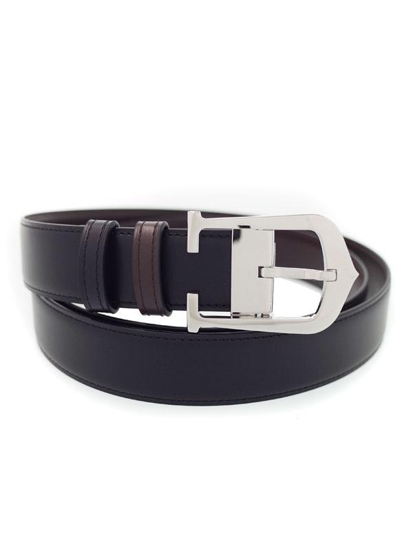 【Cartier】カルティエ『Cアロンジェ リバーシブル ベルト』L5000152 メンズ 1週間保証【中古】