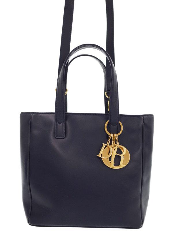 【Christian Dior】クリスチャンディオール『2WAYハンドバッグ』レディース 2WAYバッグ 1週間保証【中古】
