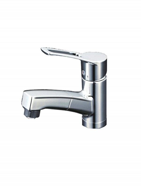 KVK『洗面用 台付シングルレバー式シャワー付き混合栓』KM8001TF 水栓金具 1週間保証【新品】