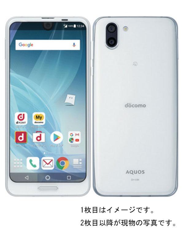 【SHARP】【アクオス】【docomoのみ】シャープ『AQUOS R2 docomo 64GB プラチナホワイト』SH-03K 2018年6月発売 スマートフォン 1週間保証【中古】