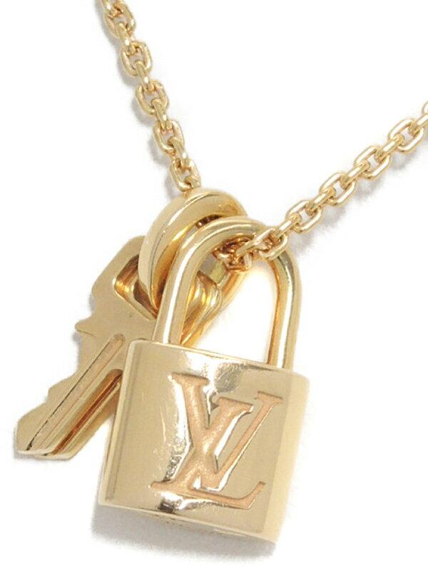 【Louis Vuitton】ルイヴィトン『K18PG パンダンティフ ロックイット』Q93341 ネックレス 1週間保証【中古】