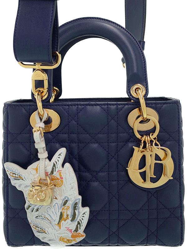 【Christian Dior】クリスチャンディオール『レディディオール(S)』M0531GLCT レディース 2WAYバッグ 1週間保証【中古】