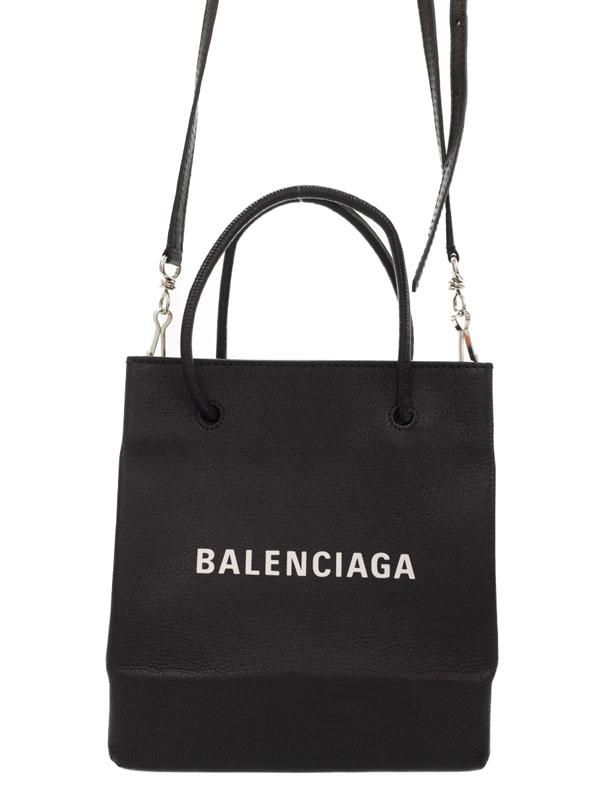 【BALENCIAGA】バレンシアガ『ショッピング トート』528655 レディース 2WAYバッグ 1週間保証【中古】