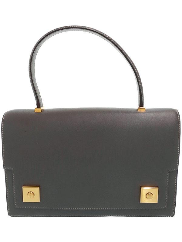 【HERMES】【ゴールド金具】エルメス『ピアノ』N刻印 1984年製 レディース ハンドバッグ 1週間保証【中古】
