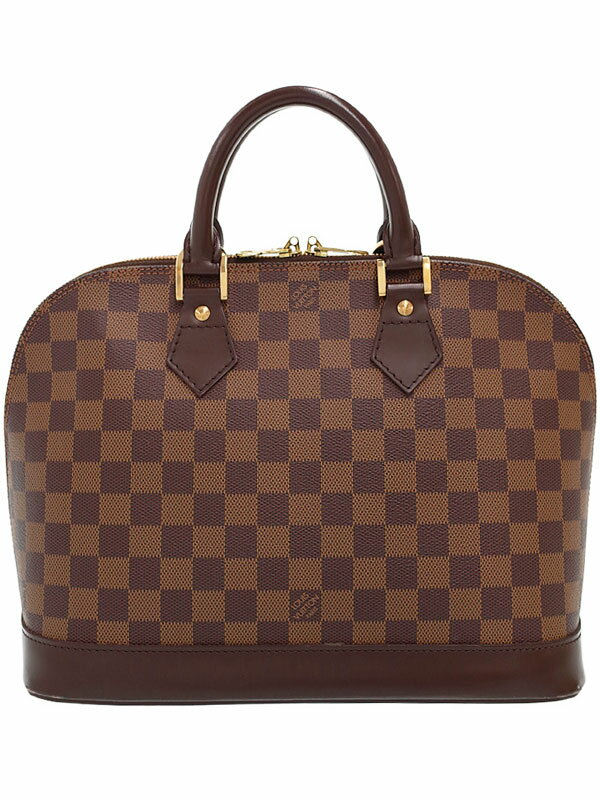 【LOUIS VUITTON】ルイヴィトン『ダミエ アルマ』N51131 レディース ハンドバッグ 1週間保証【中古】