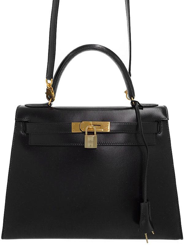 【HERMES】【ゴールド金具】エルメス『ケリー28 外縫い』V刻印 1992年製 レディース 2WAYバッグ 1週間保証【中古】