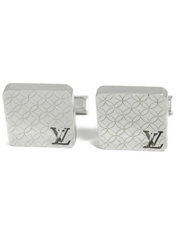 【Louis Vuitton】【カフリンクス】ルイヴィトン『ブトン ドゥ マンシェット・シャンゼリゼ』M65043 カフスボタン 1週間保証【中古】