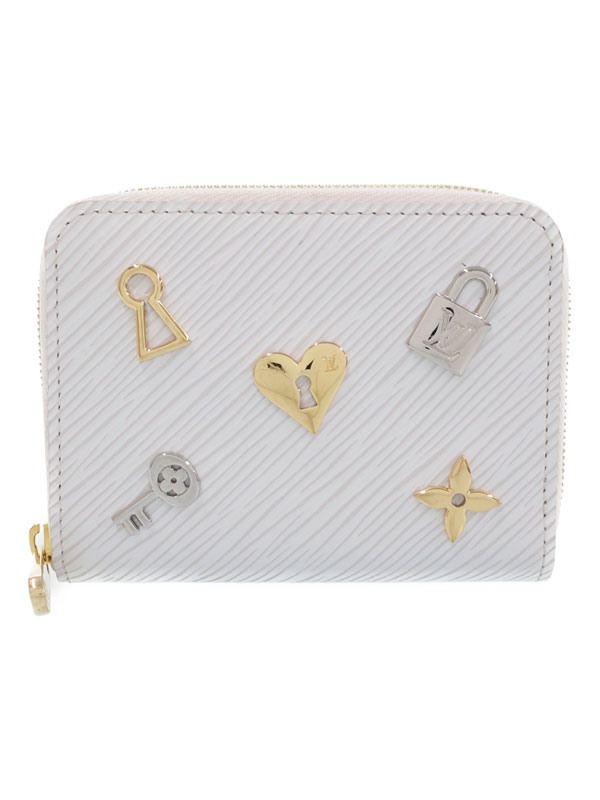 【LOUIS VUITTON】【ラブ・ロック】ルイヴィトン『エピ ジッピー コインパース』M63994 レディース コインケース 1週間保証【中古】