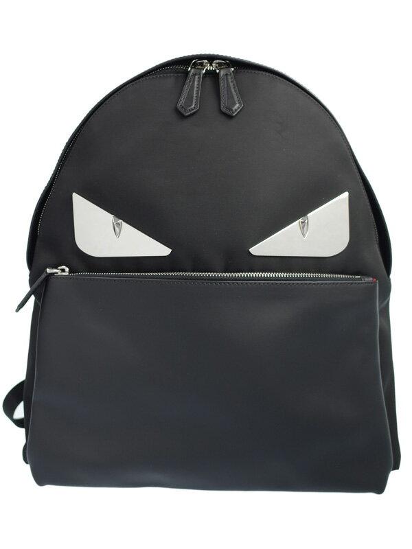 【FENDI】【BAG BUGS】フェンディ『バッグバグズ リュックサック』7VZ012 レディース バックパック 1週間保証【中古】