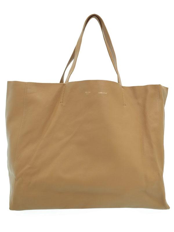 【CELINE】セリーヌ『ホリゾンタル カバ』ユニセックス トートバッグ 1週間保証【中古】