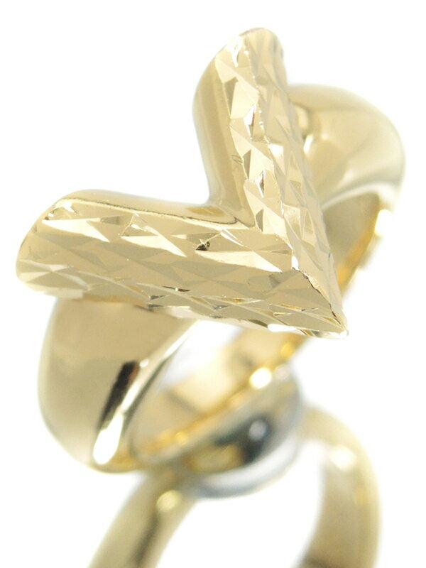 【Louis Vuitton】ルイヴィトン『バーグ・エセンシャルV ギヨーシュ』10号 M67443 リング 1週間保証【中古】