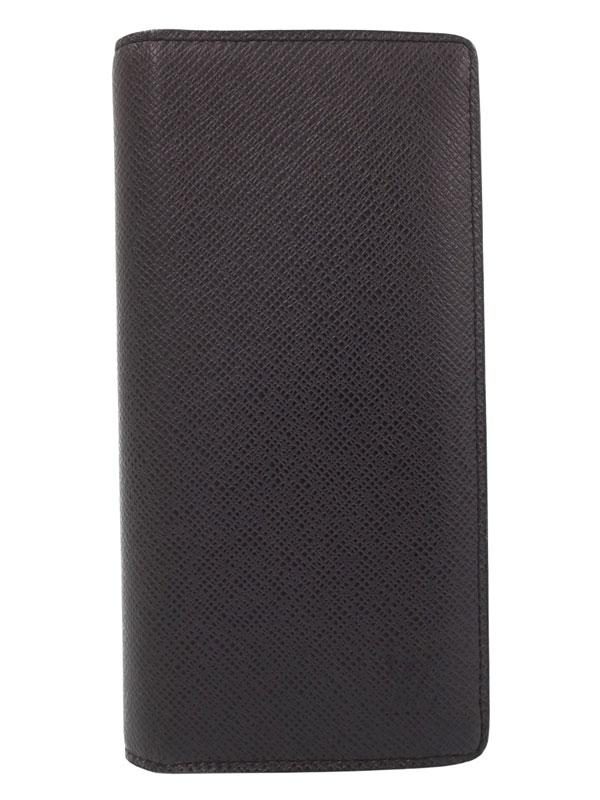 【LOUIS VUITTON】ルイヴィトン『ポルトフォイユ ブラザ』M32653 メンズ 二つ折り長財布 1週間保証【中古】