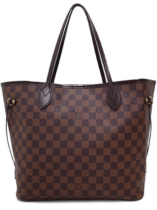 【LOUIS VUITTON】【made in U.S.A】ルイヴィトン『ダミエ ネヴァーフルMM』N51105 レディース トートバッグ 1週間保証【中古】