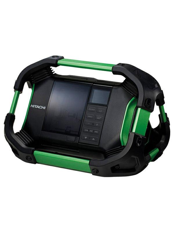 【HiKOKI】日立工機『14.4V/18V コードレスラジオ』UR18DSDL FM/AM/Bluetooth/AUX 生活防水仕様 蓄電池・充電器別売【新品】