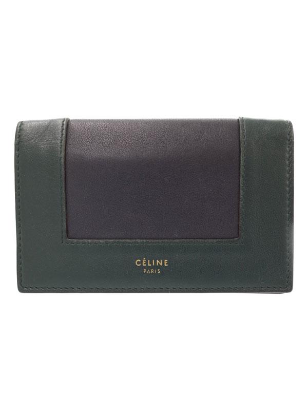 【CELINE】セリーヌ『コイン カードケース』109653 メンズ レディース コインケース 1週間保証【中古】